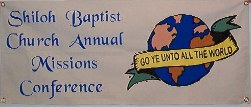 Canvas missions conference banner.