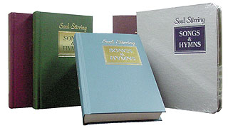 Soul Stirring Songs & Hymns, Great Hymns of the Faith, and the All-American Hymnal.  Best prices on the internet!
